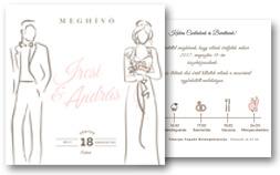 Esküvői meghívó készítés